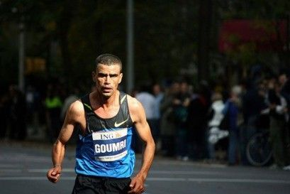 Goumri w New York City Marathon (2008 r.)